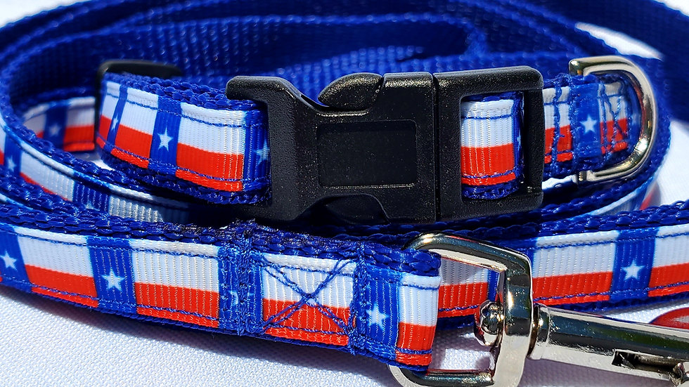 "1/2"" Texas America Dog Collar, Leash, or Harness"