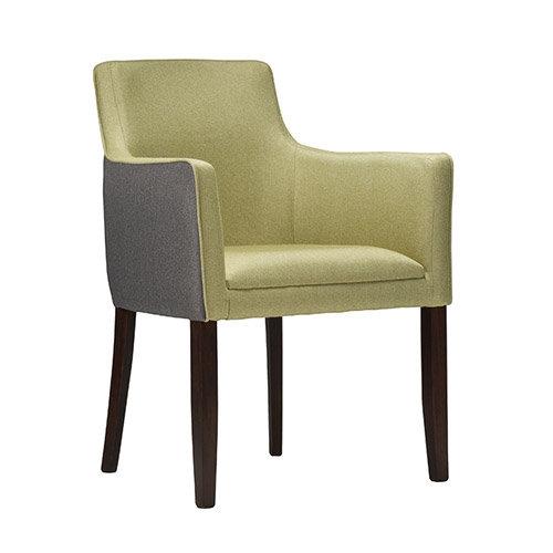 Torino Arm Chair in Dual Fabric