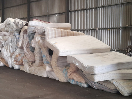 Mattress Recycling Rate Increases by 55% in 3 Years