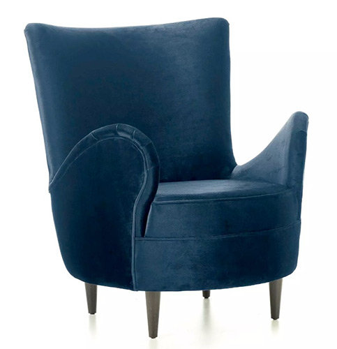 Egg Accent Chair Side View