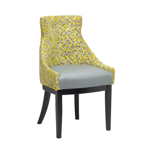 Siena Arm Chair Dual Fabric