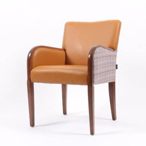 Matera Armchair in Dual Fabric