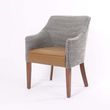 Kenwood Armchair in Dual Fabric