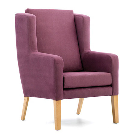 Colonsay High Back Chair with Wings