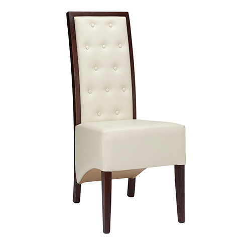Valenza Floating Button Back Chair