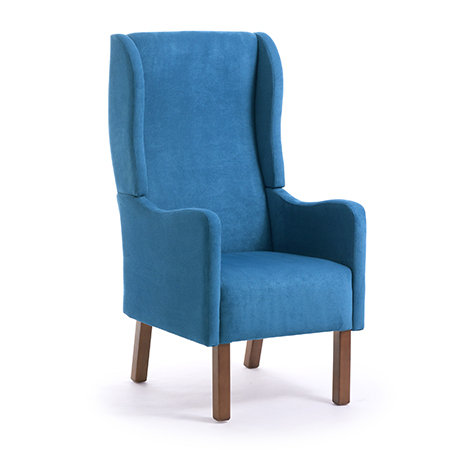Arden Bow Armchair With Wings