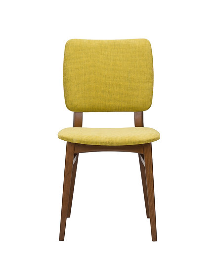 Zara Chair with Padded Back Front View