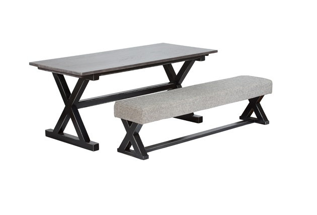 Cross Table and Bench