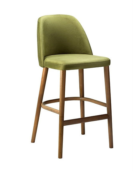 Calm High Chair with Upholstered Back