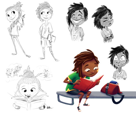 Little Ray Character Exploration