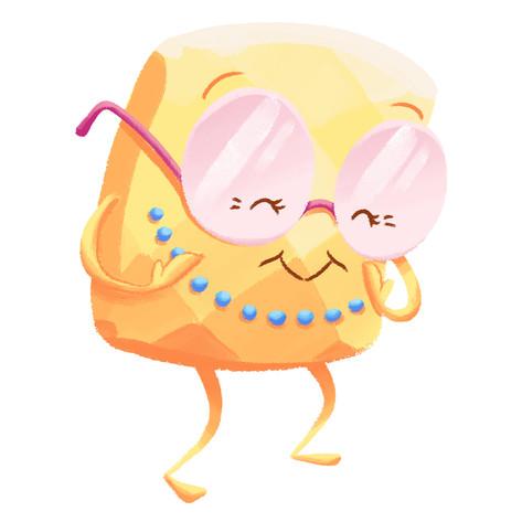 Yellow Diamond Mascot