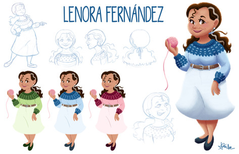 Lenora Fernández Character Sheet