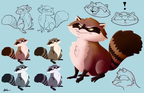 Raccoon Character Sheet
