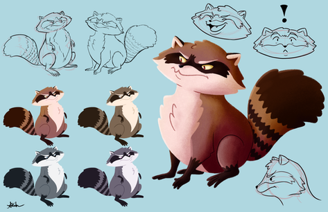 Raccoon Character Sheet