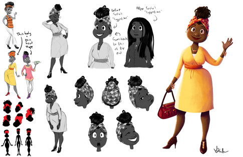 Sasha's Mom Character Sheet