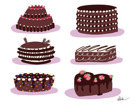 Chocolate Cake Designs