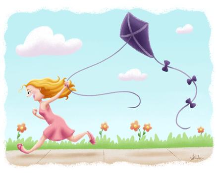 SCBWI Kite-Flyer