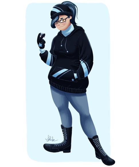 Dark/Ice Trainer Leona