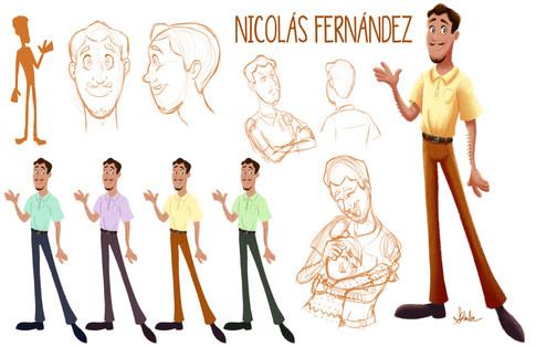Nicolás Fernández Character Sheet
