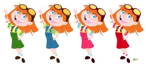 Sophie Color Studies