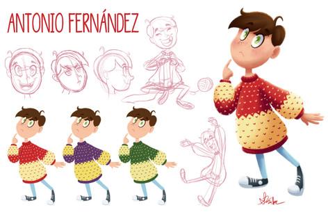 Antonio Fernández Character Sheet