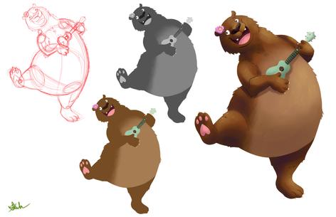 Ukulele Bear Process Sheet
