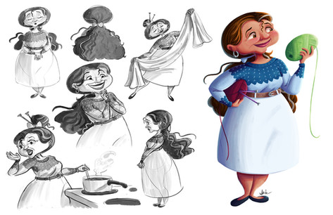 Lenora Fernández Character Redesign