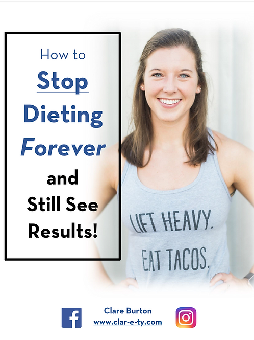 Stop Dieting, Start Living Complete Nutrition Guide