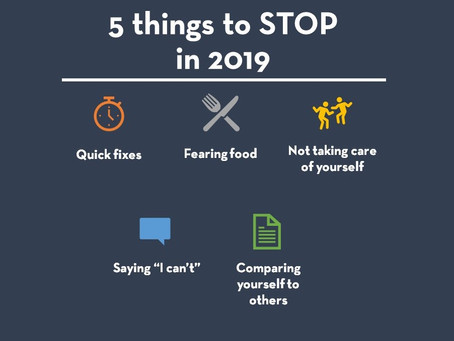 5 Things to Leave in 2018