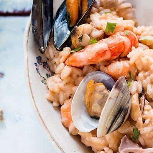 Preparato pronto a cuocere per pasta/risotto pescatora