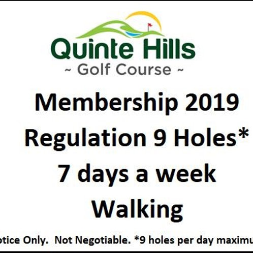 9 Holes Anyday: Walking