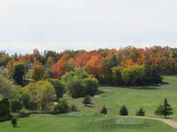 Overlooking Hole #12's Tee Decks