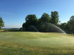 Sprinklers on 9