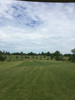 View from top of hole 13
