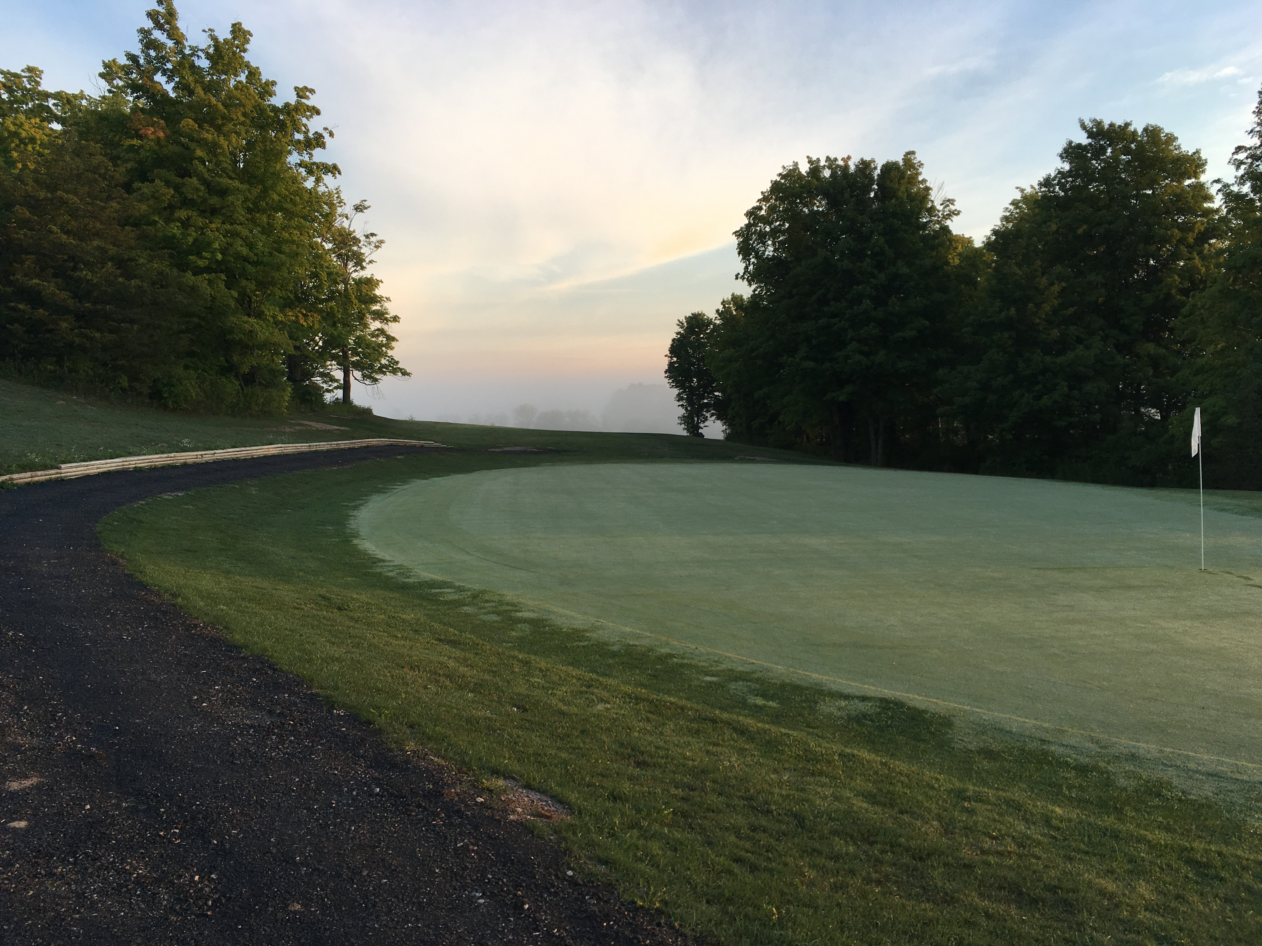 Hole #9's Green