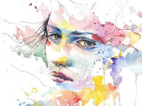 Mujer Descolorida