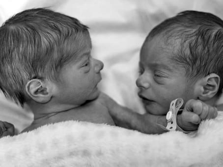 Mis gemelos: Pablo & Mario.