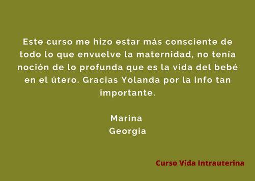 Testimonio Marina