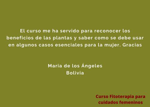 Testimonio María de los Ángeles
