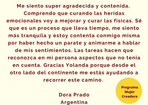 Testimonio Dora