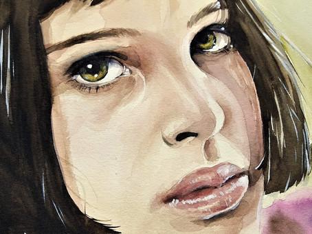 Érase una vez...la niña de los ojos bonitos.