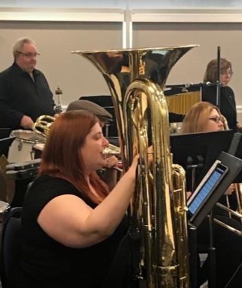 Fort Sask Community Band Member Tara Booker