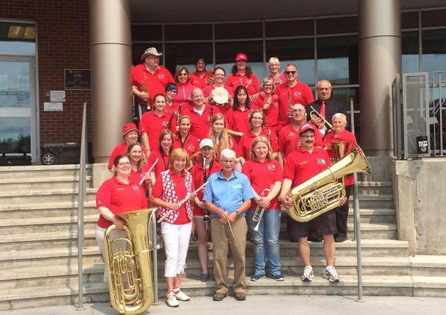 Fort Sask Community Band on Canada Day
