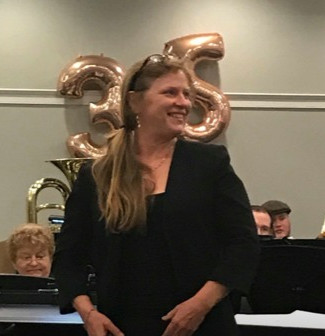 Former Fort Sask Community Band Conductor Jill McElwain
