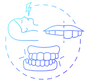 teeth-grinding-blue-gradient-concept-ico
