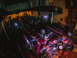 Midnight Organ Fight Revisited in Pepper Canister Dublin