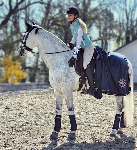 Dapple Horse Blanket
