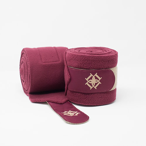 Dapple Burgundy Bandages