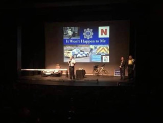 Road Safety presentation at Watergate Theatre