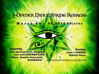 I-Opener Dance Spring Retreat March 24-25 at Sirius